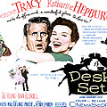 The Desk Set, Spencer Tracy, Katharine by Everett