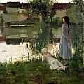 The Ferry by William Stott