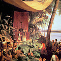The First Mass Held In The Americas by Pharamond Blanchard