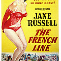 The French Line, Jane Russell, 1954 by Everett