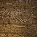 The Gods Horus, Hathor And The Pharaoh by Taylor S. Kennedy