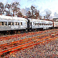 The Golden Age Of Railroads . 7d115623 Poster by Wingsdomain Art and Photography