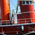 The Hercules . A 1907 Steam Tug Boat At The Hyde Street Pier In San Francisco California . 7d14143 by Wingsdomain Art and Photography