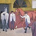 The Horse Mart  by Robert Polhill Bevan