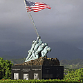 The Iwo Jima Statue by Michael Wood
