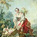 The Joys Of Motherhood by Jean-Honore Fragonard