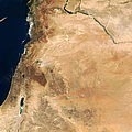 The Lands Of Israel Along The Eastern by Stocktrek Images