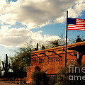 The Last Outpost Old Tuscon Arizona by Susanne Van Hulst