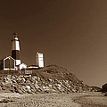 The Light At Montauk Point by Skip Willits