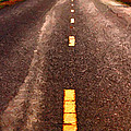 The Long Road Home . Painterly Style . Long Size by Wingsdomain Art and Photography