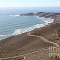 The Marin Headlands - California Shoreline - 5d19593 by Wingsdomain Art and Photography