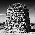 the memorial cairn on Culloden moor battlefield site highlands scotland by Joe Fox