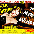 The Merry Widow, Lana Turner, 1952 by Everett