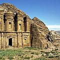 The Monastery Ad Dayr At Petra by Sami Sarkis