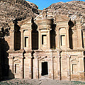 The Nabateian Temple Of Al Deir by Martin Gray