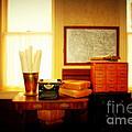 The Office Old Tuscon Arizona by Susanne Van Hulst