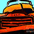 The Old Jalopy . 7d8396 . Color Sketch Style by Wingsdomain Art and Photography