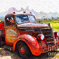 The Old Rusty Jalopy . 7D15500 Print by Wingsdomain Art and Photography