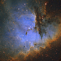 The Pacman Nebula by Ken Crawford