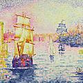 The Port Of Marseilles by Henri-Edmond Cross