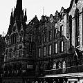 The Quaker Meeting House On Victoria Street Edinburgh Scotland Uk United Kingdom by Joe Fox