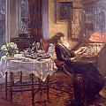 The Quiet Hour by Albert Chevallier Tayler