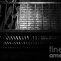 The Rear Window - Bw - 7d17463 by Wingsdomain Art and Photography
