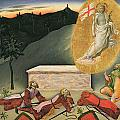 The Resurrection Print by Master of the Osservanza