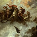 The Ride of the Valkyries  Print by William T Maud