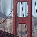 The San Francisco Golden Gate Bridge - 7d19061 by Wingsdomain Art and Photography
