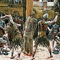 The Scourging Print by Tissot