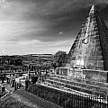 The Star Pyramid Near Valley Cemetery Stirling Scotland Uk by Joe Fox