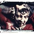 The Third Eye Polaroid Transfer by Jane Linders