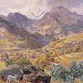 The Val D'aosta by John Brett