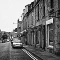 Thistle Street Rows Of Granite Houses And Shops Aberdeen Scotland Uk by Joe Fox
