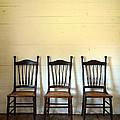 Three Antique Chairs by Jill Battaglia