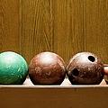 Three Bowling Balls by Benne Ochs