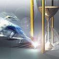 Time Travel, Conceptual Artwork by Laguna Design