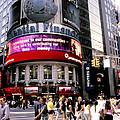 Times Square Corner by Linda  Parker