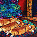 Toasty Toes Print by Lyn Cook