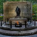 Tomb of the Unknown Revolutionary War Soldier - George Washington  Print by Lee Dos Santos