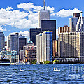 Toronto Waterfront by Elena Elisseeva