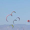 Torremolinos, Spain  Kite Surfing by Ken Welsh