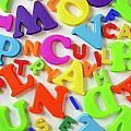 Toy Letters by Carlos Caetano