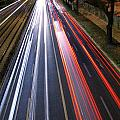 Traffic Lights Print by Carlos Caetano