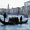 Traghetto . Gran Canal. Venice by Bernard Jaubert