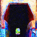 Train Tunnel With Graffiti by Wingsdomain Art and Photography