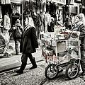 Traveling Vendor by Joan Carroll