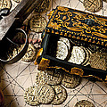 Treasure Box With Old Pistol by Garry Gay
