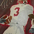 Trent Richardson Alabama Crimson Tide by Ryne St Clair